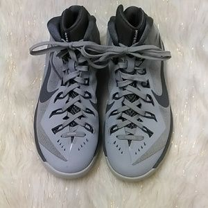 Nike Grey Lace Up Tennis Shoes